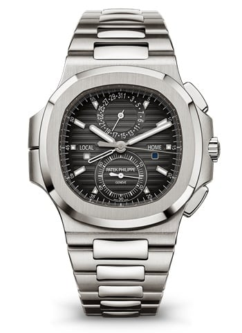 Patek Philippe Nautilus Travel Time Chronograph Stainless Steel Ref. 5990/1A-001