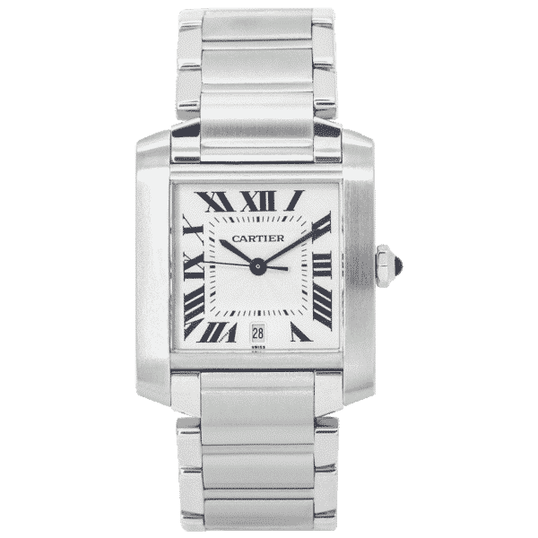 Cartier Tank Francaise Stainless Steel Watch 2302