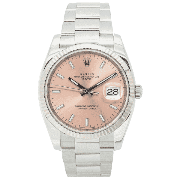 Rolex Oyster Perpetual Date 34mm Stainless Steel 115234