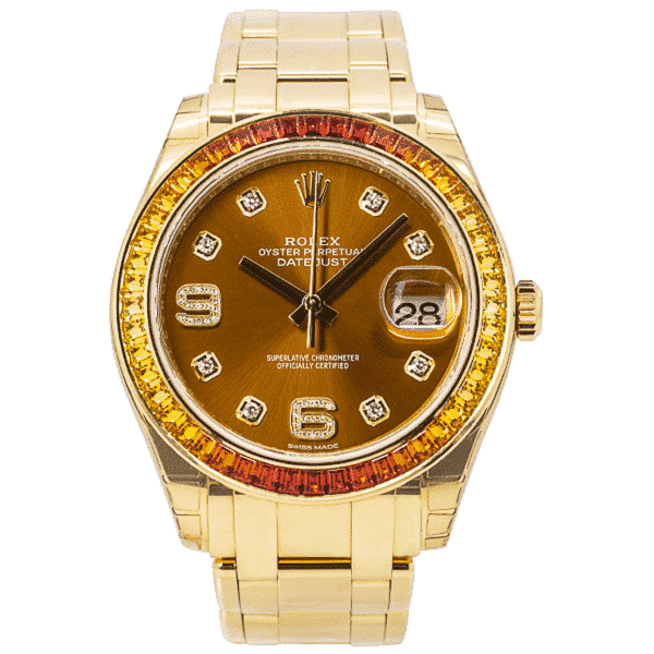 Rolex Oyster Perpetual Pearlmaster Yellow Gold 86348SAJOR