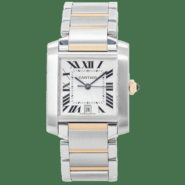 Cartier Tank Francaise Bi-Metal Watch 2302