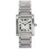 Cartier Tank Francaise Stainless Steel Ladies Watch 2465