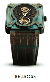 Bell & Ross BR-1 Skull Bronze Tourbillon