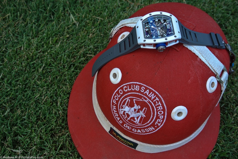 Richard Mille at the Polo Club Saint-Tropez