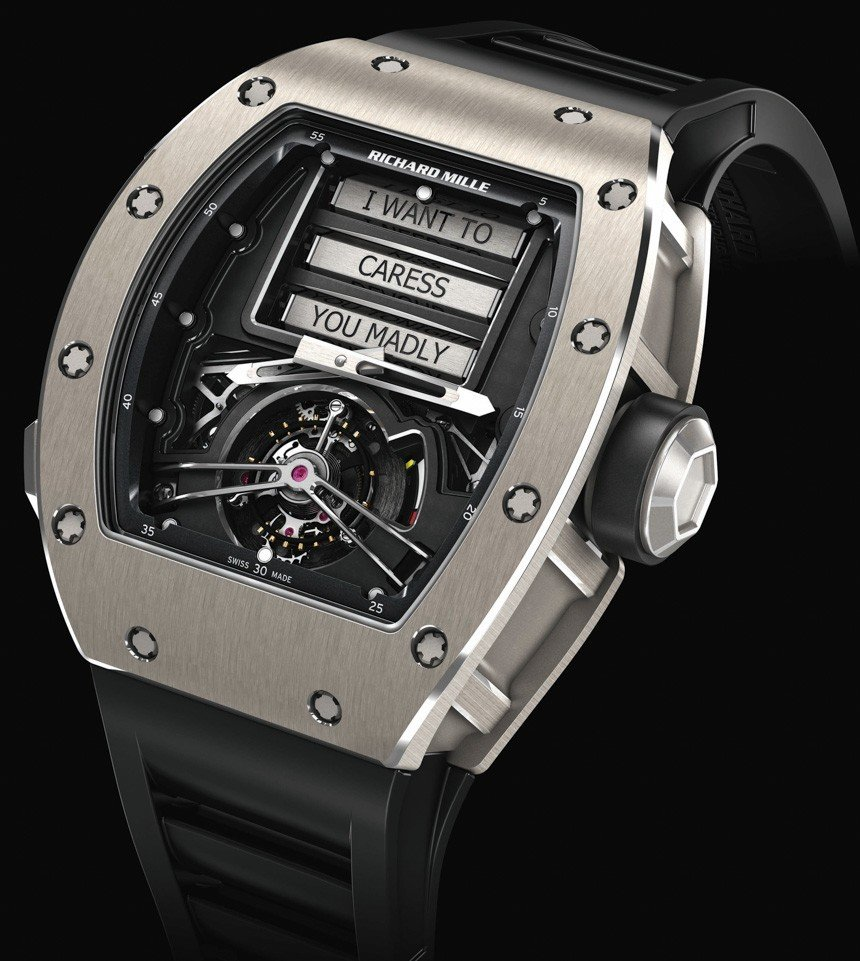 Richard Mille RM 69 Erotic Tourbillon Luxe Watches