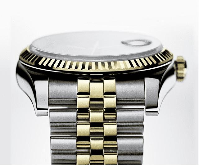 Rolex Jubilee bracelet and bezel