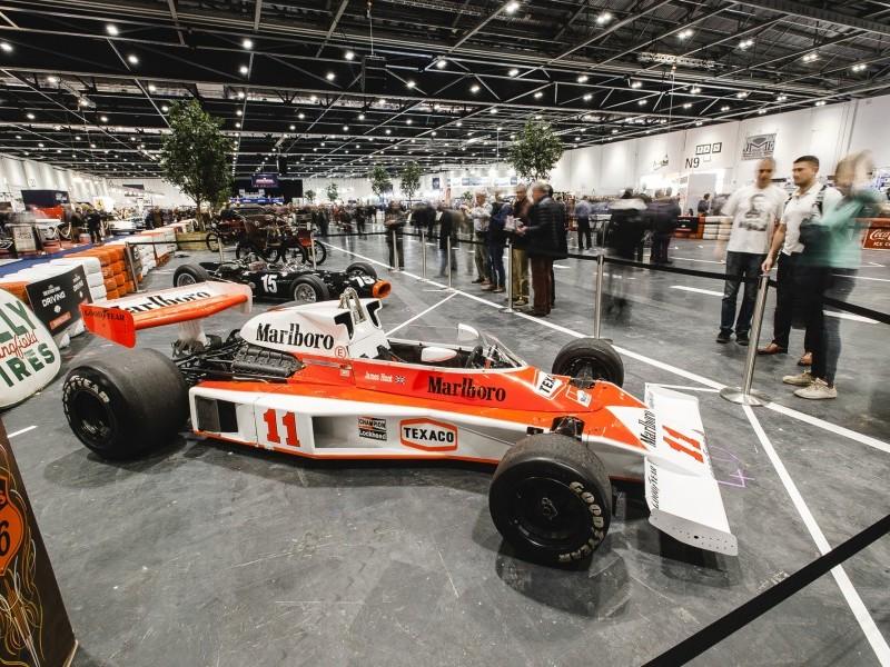 F1 Car The London Classic Car Show