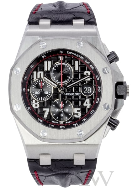 Audemars piguet royal oak offshore chronograph vampire 26470st oo luxe watches for Royal oak offshore vampire