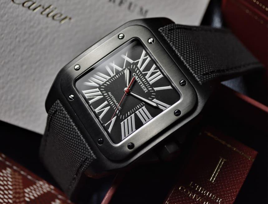 Cartier-Santos-100-XL-Carbon