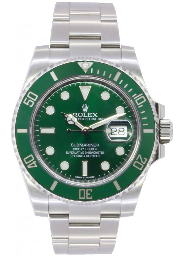 Rolex Oyster Perpetual Submariner 'Hulk'