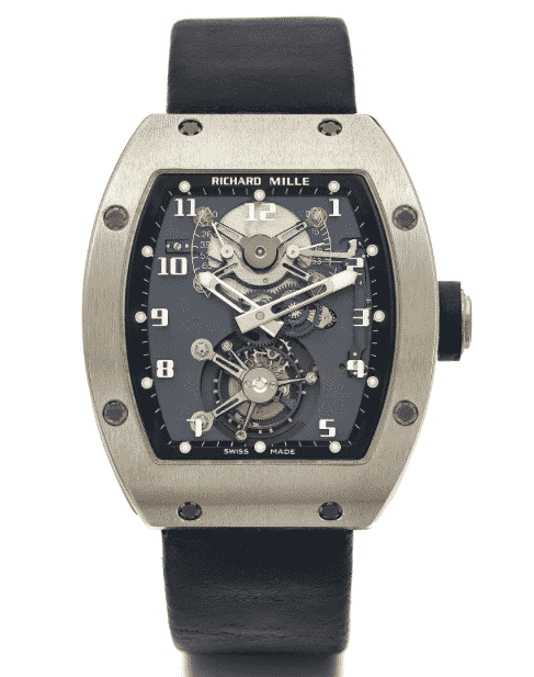 Richard Mille RM 001 White Gold