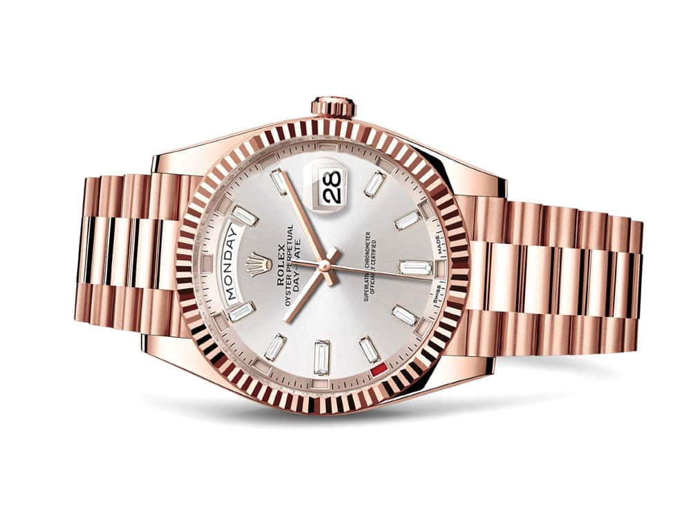 Rolex Pink Gold Day-Date Annual Calendar 2017 Baselworld