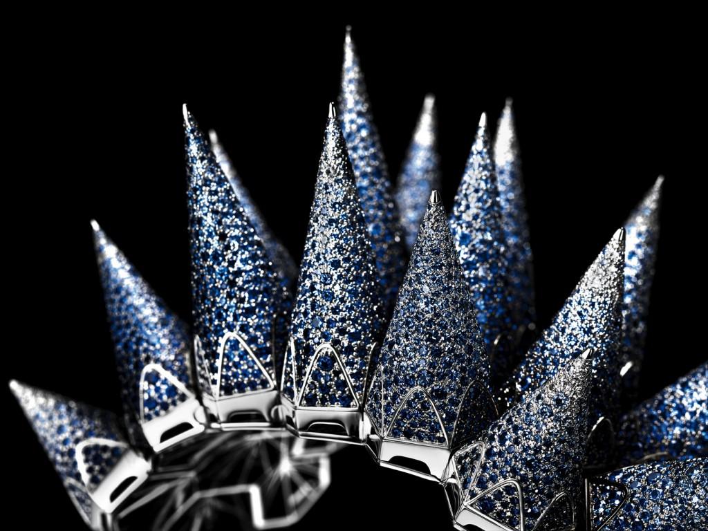Audemars Piguet Diamond Outrage Blue Sapphire SIHH 2017