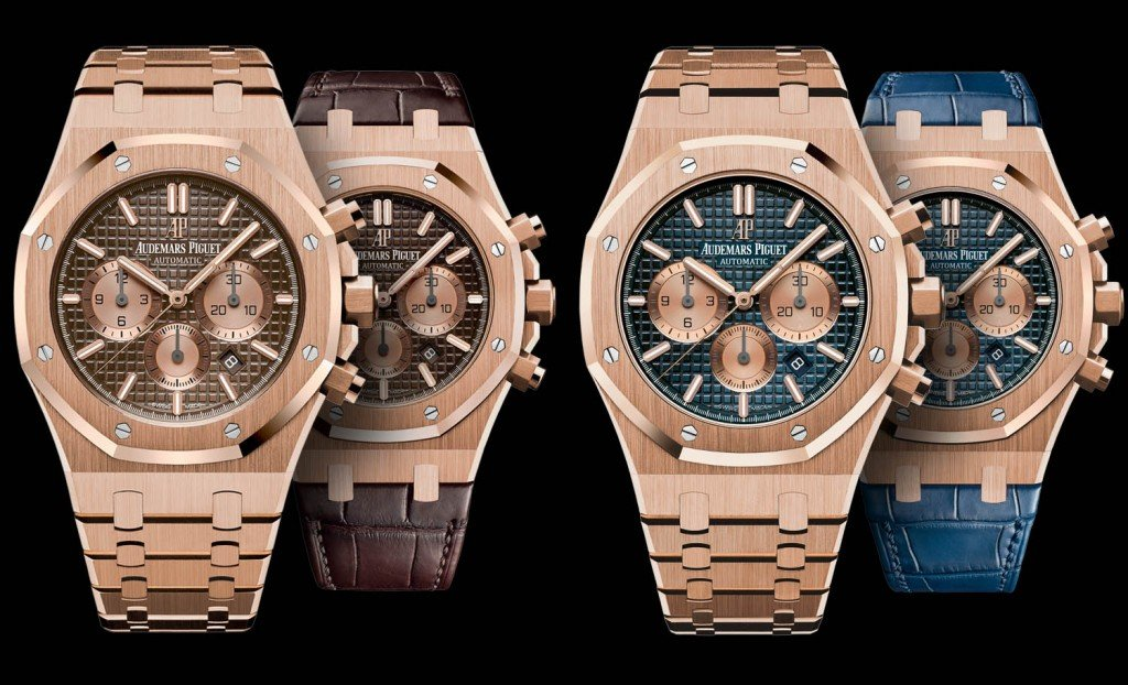 Audemars Piguet Royal Oak Chronograph Rose Gold SIHH 2017