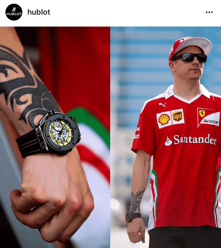 Kimi Räikkönen Hublot