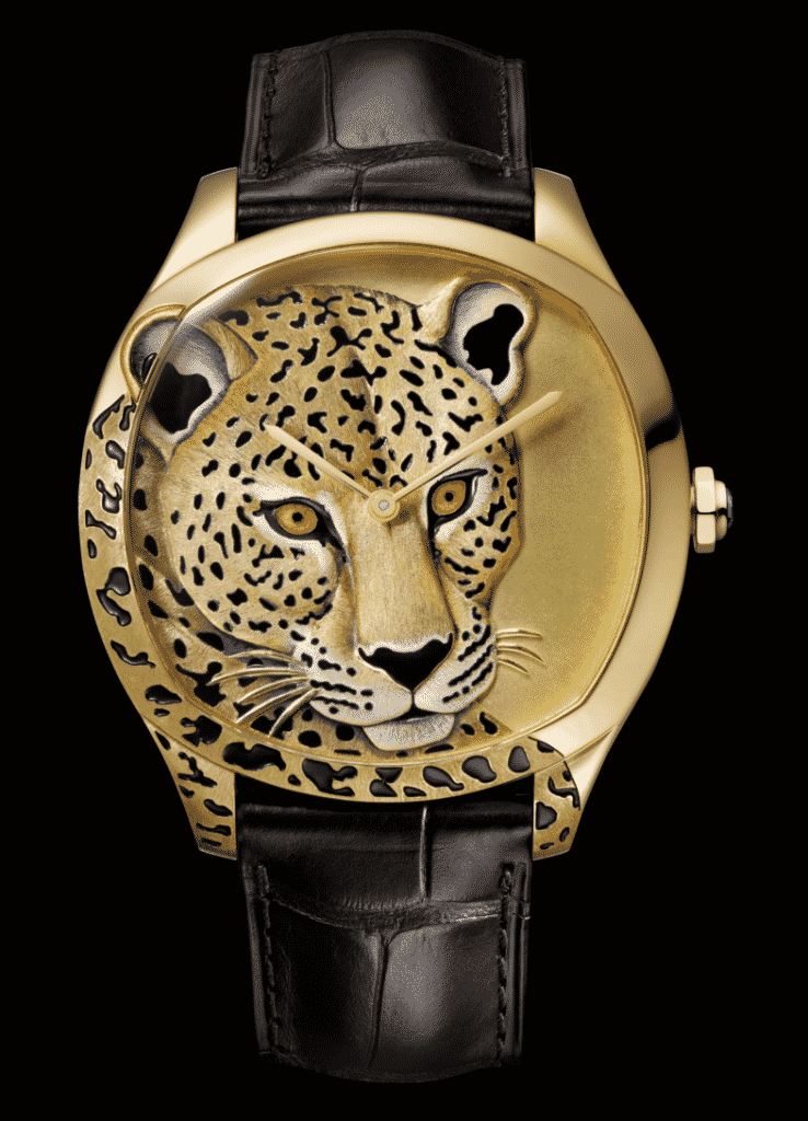 Cartier D'Art Watch Leopard