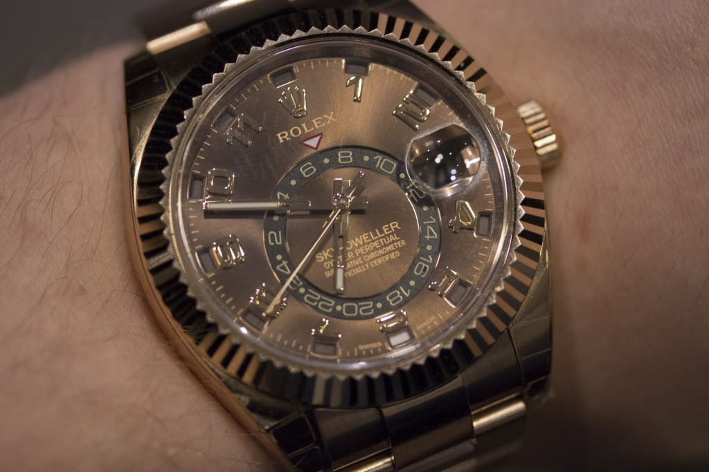 Rolex Sky-Dweller Chocolate Dial (4)