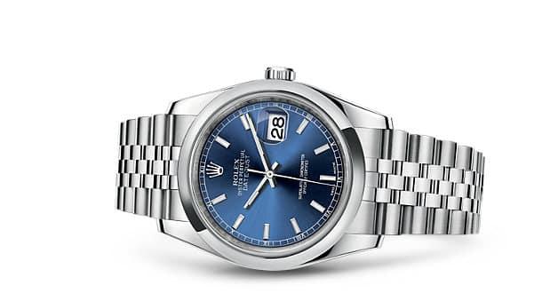 Rolex Datejust 36 Steel Blue Dial
