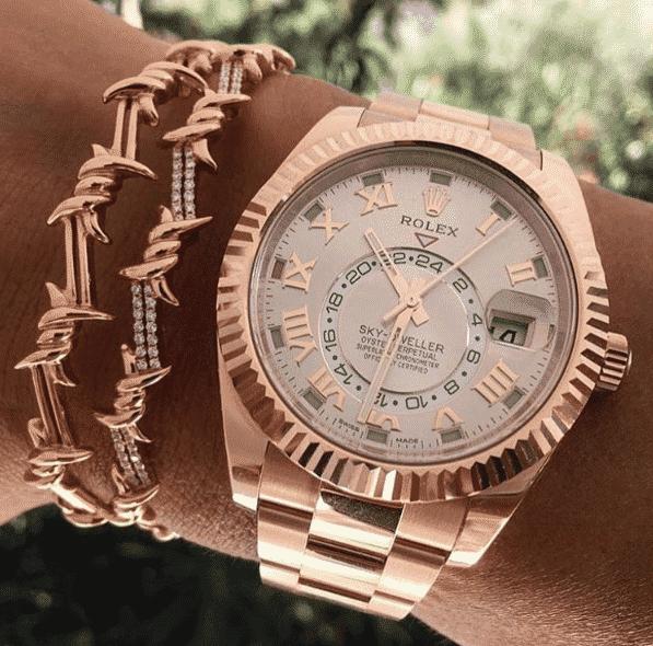 Rolex Sky-Dweller Rose Gold