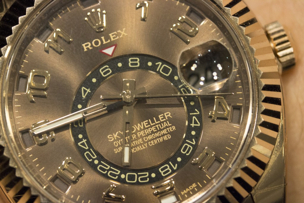 Rolex Sky-Dweller Chocolate Dial (2)