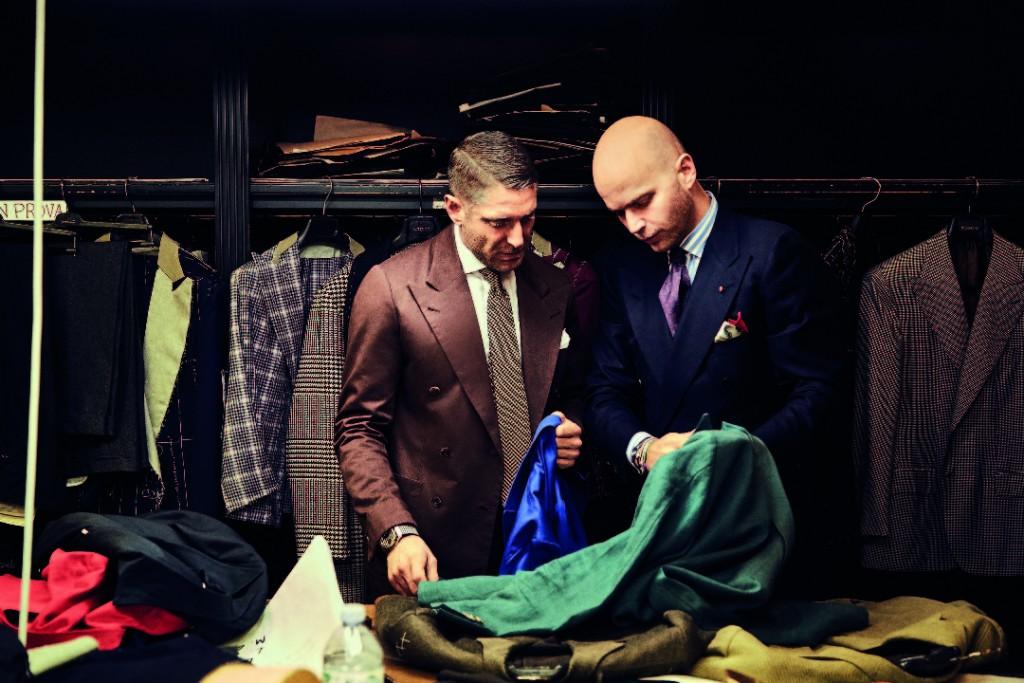Lapo Elkann & Luca Rubinacci