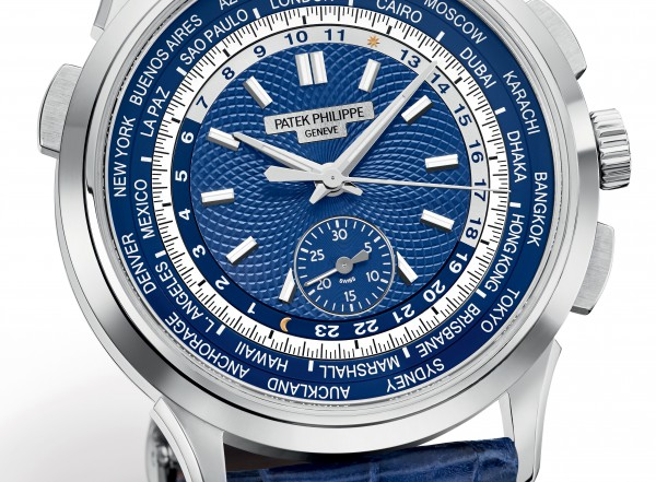 Patek Philippe Chronograph World Time Ref 5930