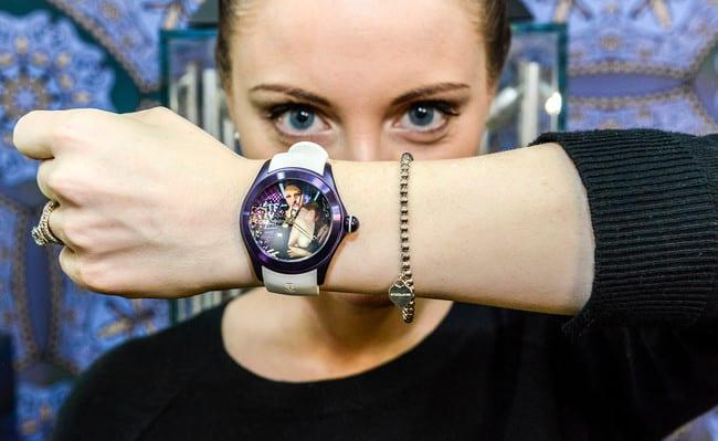 Corum Bubble Watch Mona Lisa
