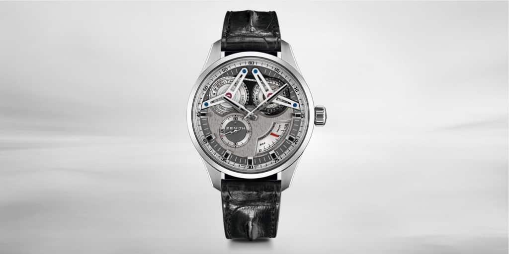 Zenith El Primero Georges Favre-Jacot Tourbillon Titanium