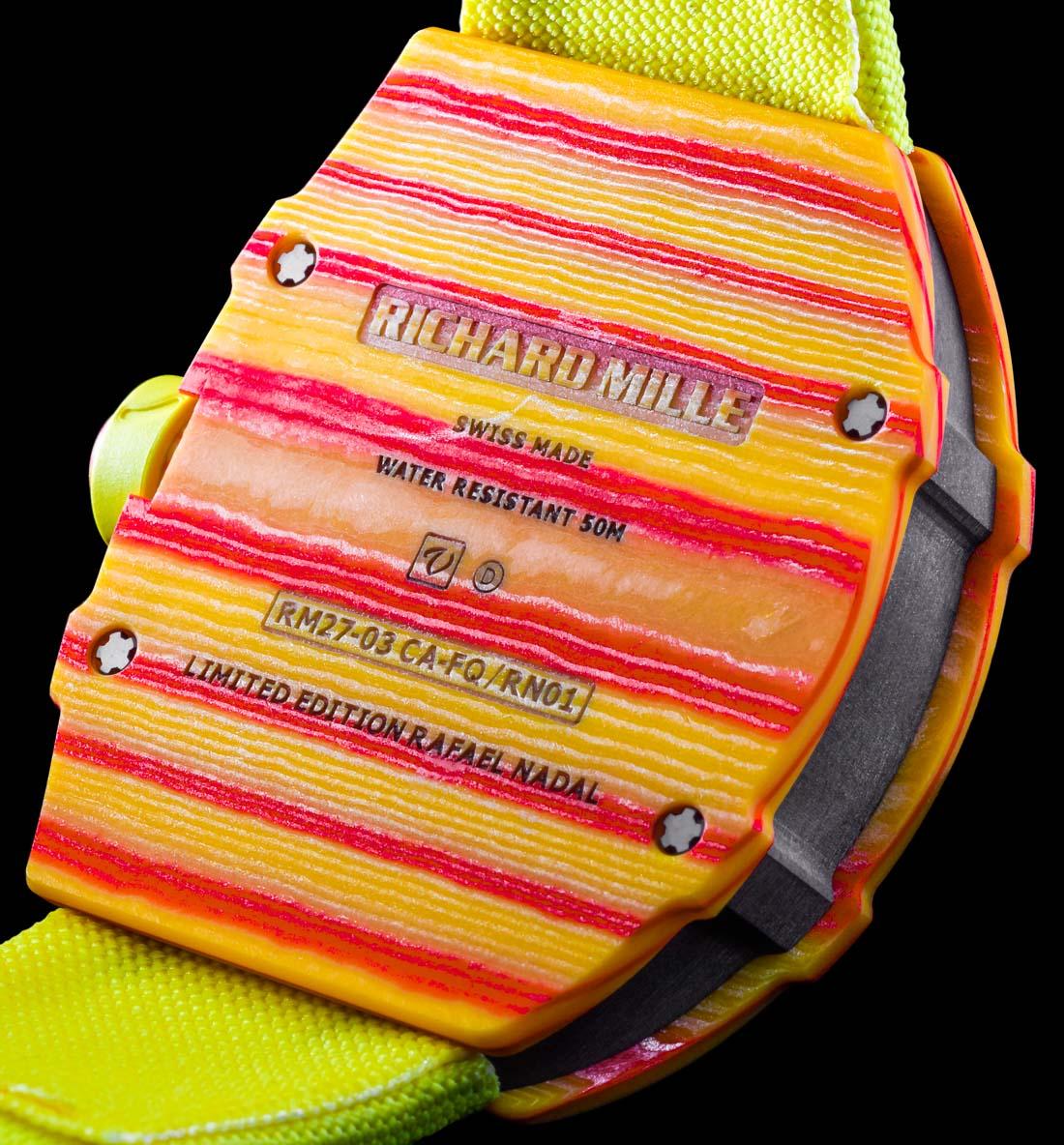 15e1cc84c Richard Mille Unveil The New RM 27-03 Rafael Nadal - A Watch That ...