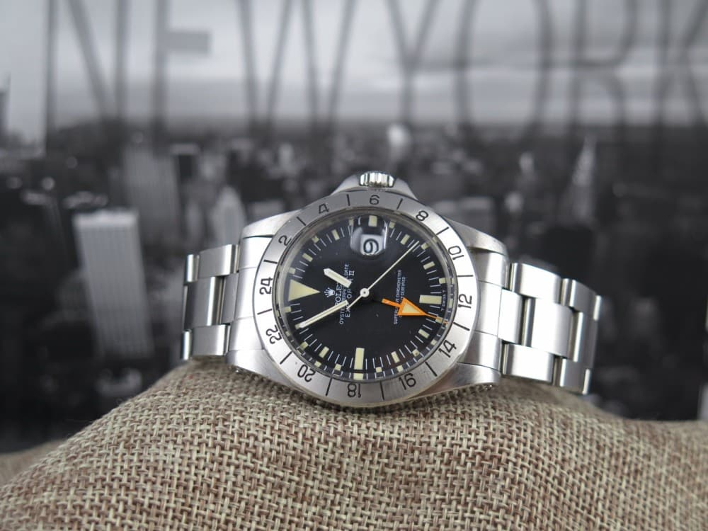 Rolex Explorer II 1655 Steve McQueen