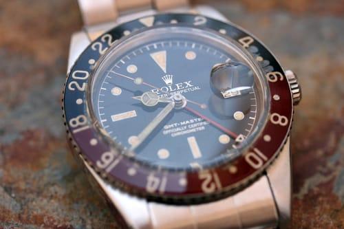 Rolex GMT-Master 6542 Bakelite Bezel