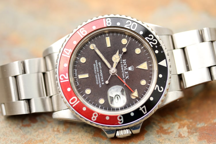 "Rolex GMT-Master II 16760 ""Fat Lady"" Coke Bezelv"