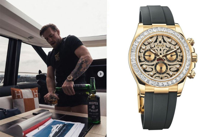 Celeb Focus Cagefighting King Conor Mcgregor Shows Off Enviable Collection Luxe Watches